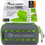 Sea to Summit Pocket Towel S - Wander-Handtuch lime