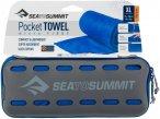 Sea to Summit Pocket Towel XL - Outdoor-Handtuch cobalt