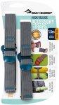 Sea to Summit Tie Down Hook Strap - 2 Stk. 20 mm x 1,5 m blau