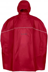 VAUDE Kids Grody Poncho indian red M