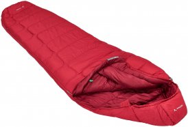 VAUDE Sioux 400 S Syn - Kunstfaser-Schlafsack dark indian red rechts