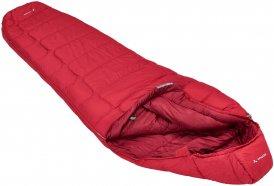 VAUDE Sioux 400 Syn - Kunstfaser-Schlafsack dark indian red rechts