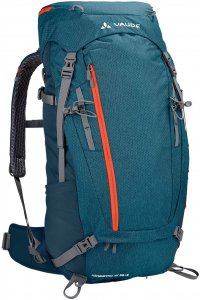 VAUDE Women's Asymmetric 38+8 - Trekkingrucksack blue sapphire