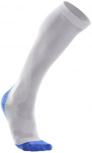 2XU Men Compression Performance Sock White - MA2442e