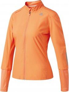 Adidas Damen Laufjacke Response Wind Orange - B47702