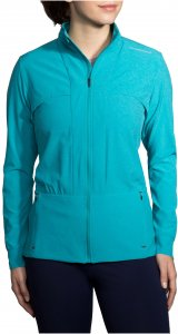 Brooks Damen Laufjacke Fremont Jacket Grün - 221186-491