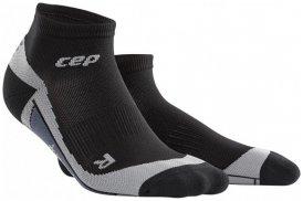 CEP Dynamic+ Low-Cut Socks Men - schwarz/grau