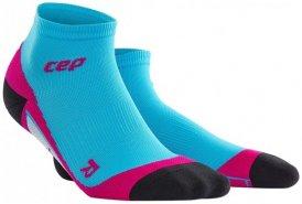 CEP Dynamic+ Low-Cut Socks Women - hawaii blue/pink