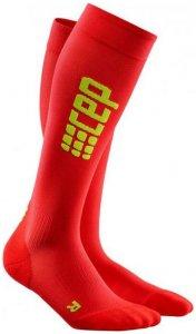 CEP Men Progressive+ Run Ultralight Socks - rot/grün