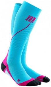 CEP Women Progressive+ Run Socks 2.0 - hawaii blau/pink