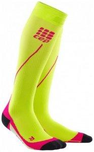 CEP Women Progressive+ Run Socks 2.0 - lime/pink
