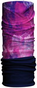Had Original Fleece Water Colour Pink Navy - HA210-0436
