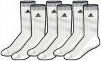 Adidas 3 Paar Corporate Crew Thin Sportsocke Weiß - E17410