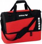 Erima Sporttasche Club 5 mit Bodenfach Rot - 723336