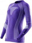 X-BIONIC Damen Laufshirt Effektor Running Powershirt Long Lila - O020639-V052