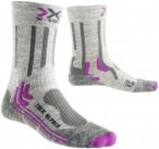 X-Socks Damen Outdoorsocke Trekking Alpaca Grau - X100082-G486