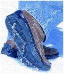 Yaktrax Walker Schuhschneeketten Blau
