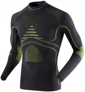 X-BIONIC Men Energy Accumulator Evo Turtle Neck Langarm Funktionsshirt - I020218-G099