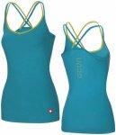 Ocun Corona Top - Lake blue - Damen T-Shirt (Größe: M)
