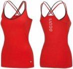 Ocun Corona Top - Lava Red - Damen T-Shirt (Größe: XS)