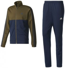 Adidas Herren Back-2-Basics 3-Streifen Trainingsanzug 48