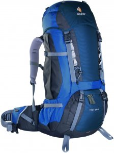 Deuter Herren Trek 55+10 Trekkingrucksack (Volumen 55+10 Liter / Gewicht 2,58kg)