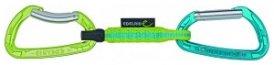 Edelrid Pure Slim Kletter Express-Schlingen Set - 118 oasis/icemint - 10