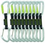 Edelrid Slash Wire Kletter-Express-Set im 10er Pack