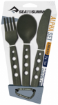 SEA TO SUMMIT Alphaset 3pc Cutlery Set (Knif 00 -