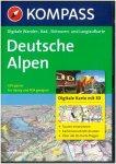 Kompass - Digitale Wander-, Rad-, Skitouren- und Langlaufkarte Deutsche Alpen
