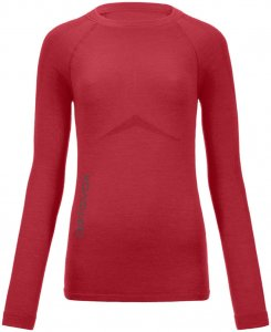 Ortovox Merino 230 Competition Long Sleeve Woman hot coral Gr. XS