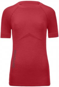 Ortovox Merino Competition Short Sleeve Women hot coral Gr. L