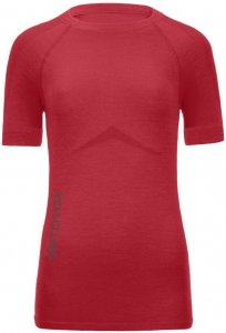 Ortovox Merino Competition Short Sleeve Women hot coral Gr. S