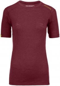 Ortovox Merino Ultra 105 Short Sleeve Woman dark blood Gr. S