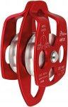 Aliens Big Double Pulley Seilrolle rot