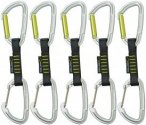 Edelrid Slash straight/wire Express Set 10 cm 5er Set