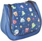 Grüezi Bag Kids Wash Bag Kinder-Kulturbeutel monster