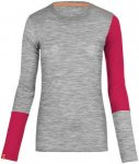 Ortovox 185 Merino rock´n´wool Long Sleeve Woman grey blend Gr. L
