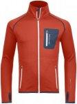 Ortovox Merino Fleece Jacket Men crazy orange Gr. S