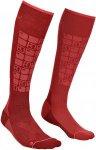 Ortovox Merino Socken Ski Compression Woman dark blood Gr. 42-44