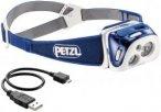 Petzl Reactik Stirnlampe blau