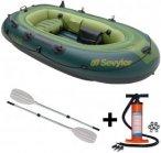 Sevylor Fishhunter FH 280 2+1 Personen Schlauchboot Set + Riemenpaar + Pumpe