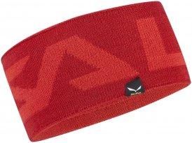 Salewa Agner Wool Headband Stirnband bergrot