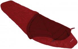 Vaude Sioux 400 Syn Kunstfaser Mumienschlafsack dark indian red RV rechts