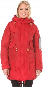 Alpha Industries Fishtail CW TT - Jacke für Damen - Rot - XS