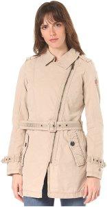 khujo Ansonia - Mantel für Damen - Beige - XL