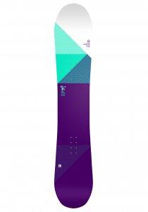 NIDECKER Elle 147cm - Snowboard für Damen - Lila - OneSize