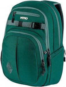 NITRO Chase 35L Laptoprucksack - Grün - OneSize