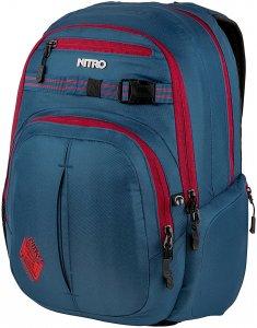 NITRO Chase 35L Rucksack - Blau - OneSize