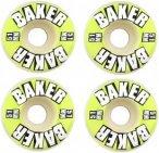 BAKER Brand Logo 101A 51mm Skate Rollen - Weiß